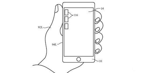 苹果新专利:让左撇子玩iPhone也能666