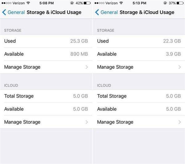 苹果iPhone存储空间不够用?先把这7种文件删掉