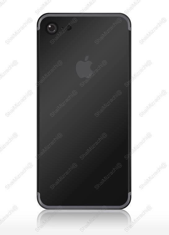 iPhone 7黑色版最新渲染图:带感还是失望?