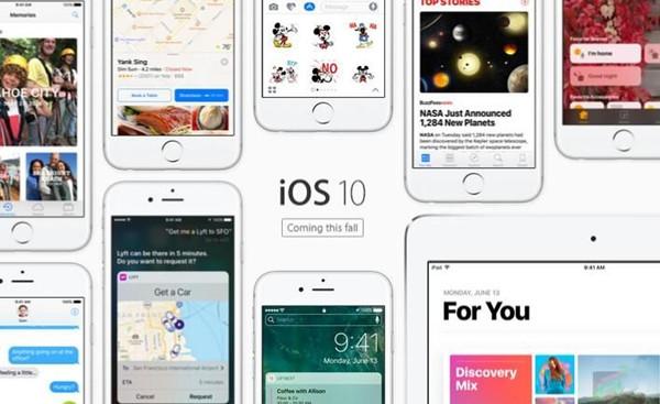 更开放!更懂你!iOS 10让打开应用的时间都省了