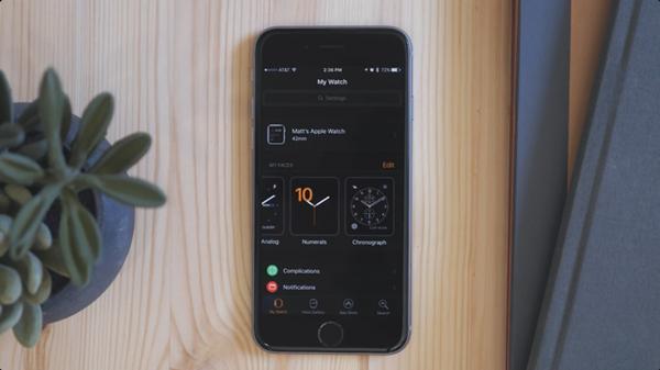 """iOS 10中的""""表盘画廊""""功能究竟是怎么样的?"""