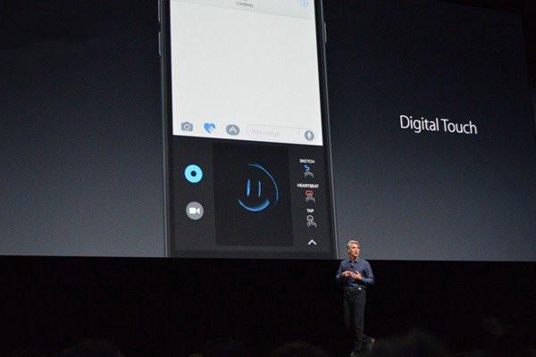"""iOS10新手势:iMessage""""隔空接吻""""太浪漫"""
