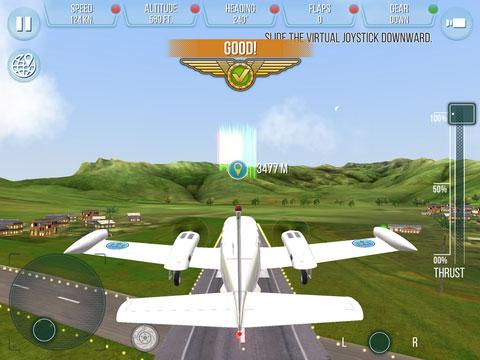 《起飞:飞机模拟器》:体验自由翱翔的乐趣