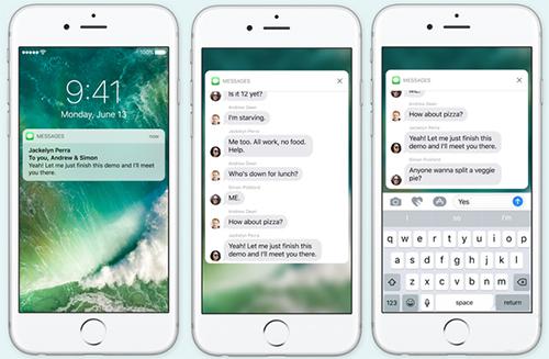 iOS 10全新锁屏界面可操作性高不高,试试便知!