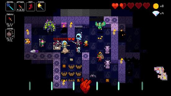 动次动次音乐节奏RPG 《节奏地牢》上架iOS平台