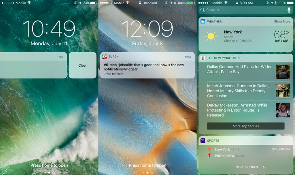 你最喜欢iOS 10哪个新功能?iOS 10使用感受