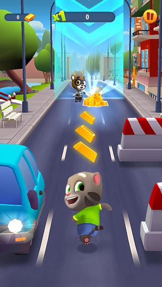庆祝全球下载突破45亿 汤姆猫系列推出新作《汤姆猫跑酷》