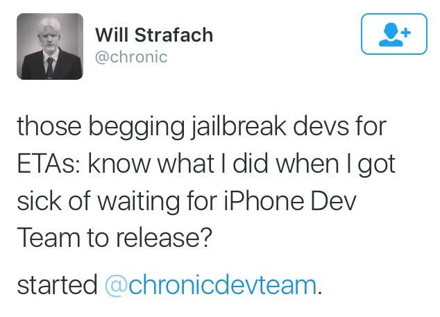 iOS越狱元老嘲笑伸手党: 等不及就自己开发