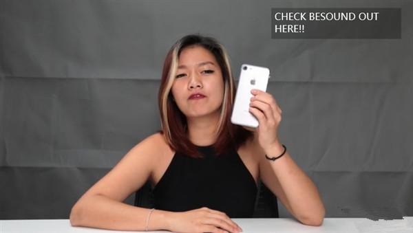 美女上手iPhone 7视频:同框对比iPhone 6s