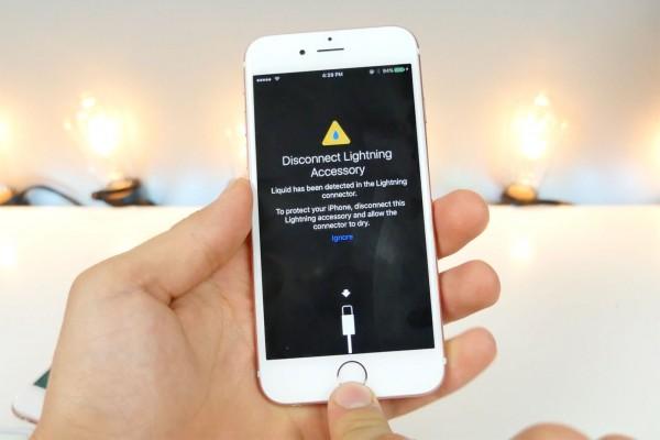 iOS 10隐藏功能曝光:能检测你的iPhone有没有进水!