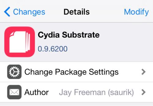 重要插件 Cydia Substrate 更新支持最新越狱