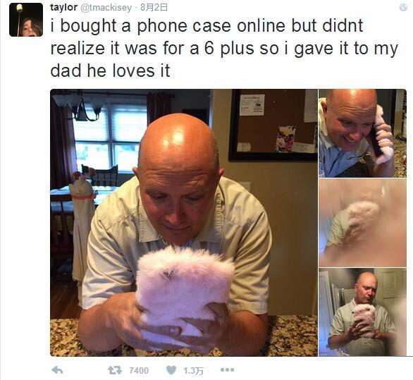 买个这样的iPhone手机壳送老爸  简直萌坏了