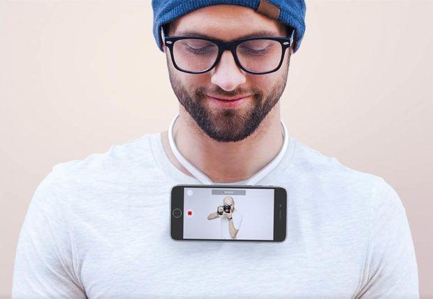解放双手!试试把iPhone挂胸前拍摄是种什么体验