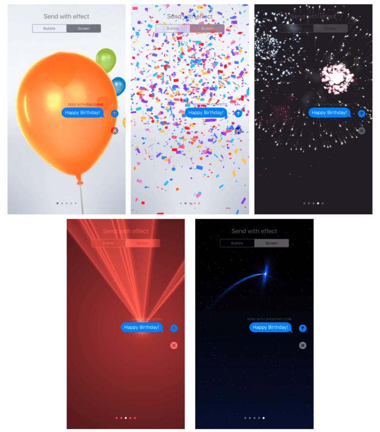 iOS 10中:如何在短信应用中发送动画?