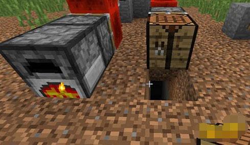 《我的世界》道具制作技巧之熔炉暗门