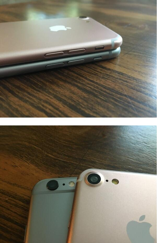 iPhone 7对比iPhone 6s/6s Plus和iPhone SE   直接上图