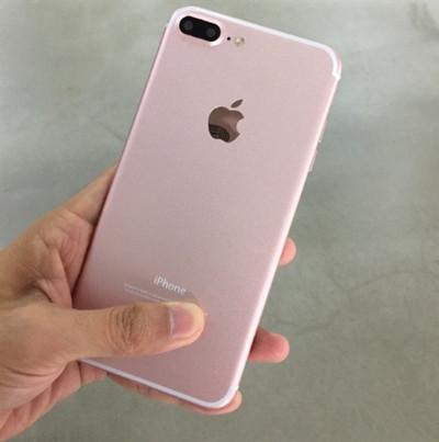 玫瑰金版iPhone 7 Plus上手:很有感觉