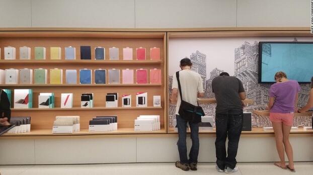 最现代的零售店?苹果世贸中心零售店开业了