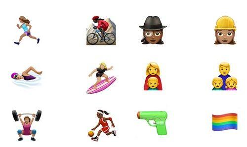 怀念从前!苹果水枪emoji表情被狂吐槽