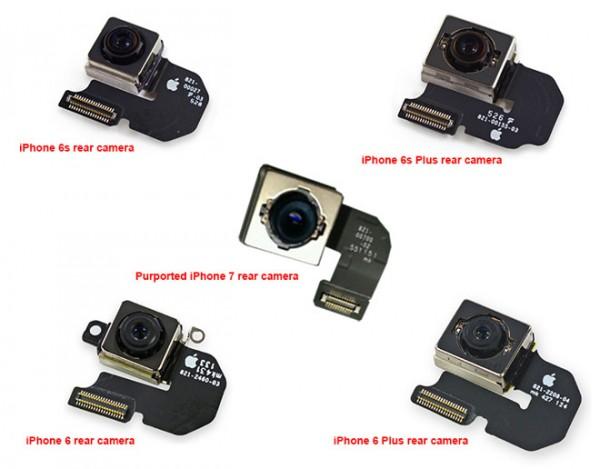 苹果iPhone 7相机模块谍照曝光,或支持光学防抖