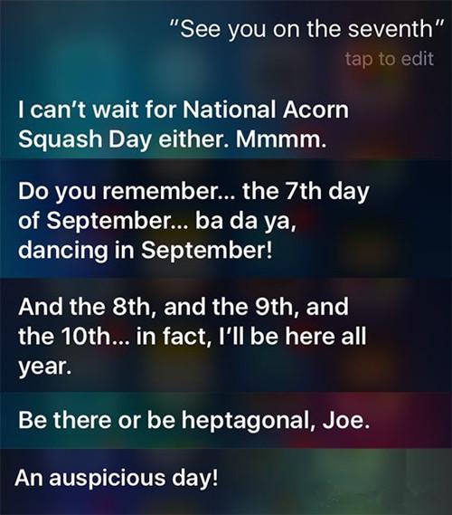 "Siri又调皮了!不妨问一下发布会相关""调戏""一下它"