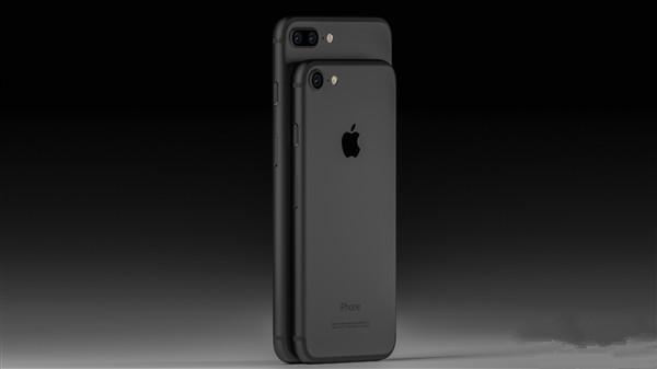 高端大气上档次!iPhone 7黑色版太吸睛