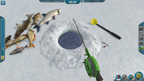 模拟钓鱼《冰湖》上架 在冰天雪地动手砸鱼洞钓鱼