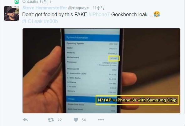 iPhone 7 3G内存系误传!Plus 3G+32G+双摄必买