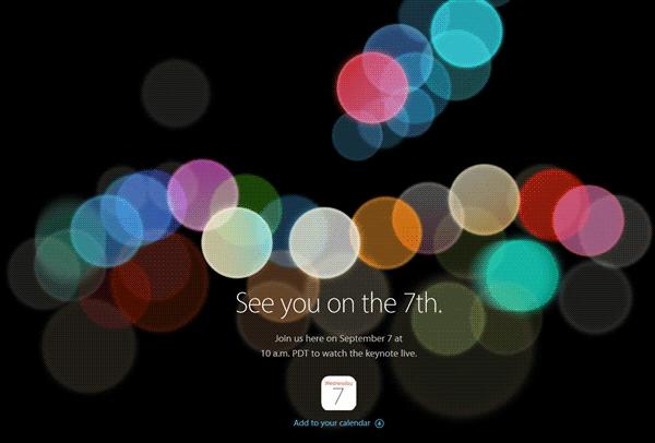 苹果2016秋季发布会视频直播 见证iPhone诞生