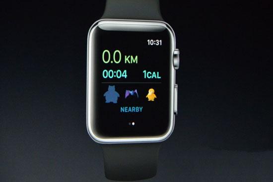 《口袋妖怪Go》登陆Apple Watch 边跑边抓的捕捉之旅