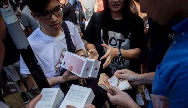 打击iPhone7黄牛,苹果香港零售店拒绝退换货