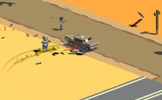 赛车新作《狂怒之路》下月上架 驾驶汽车碾压丧尸