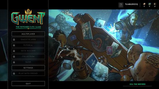 《巫师:昆特牌》展开服务器压力测试 十月将开启Beta内测