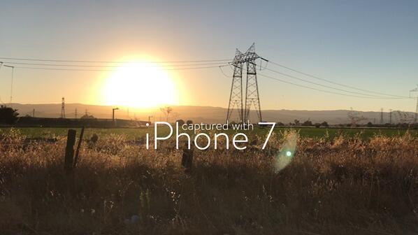 "iPhone 7相机能力超强  摄像头录制4K视频效果""壮丽"""