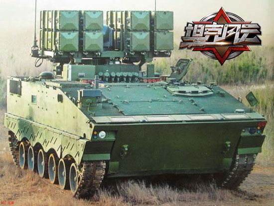 《坦克风云》最强之矛-红箭10火箭车