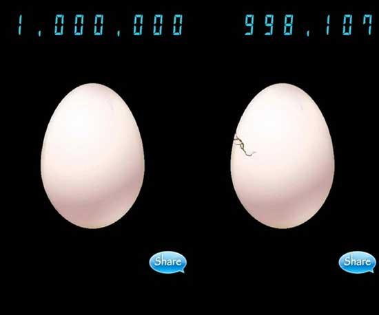 开发三日匆忙交稿的无聊手游《100万的蛋》获成功 其原因竟是文化差异?