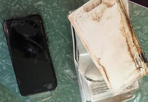 爆炸也要结伴?iPhone 7 Plus今天也炸了