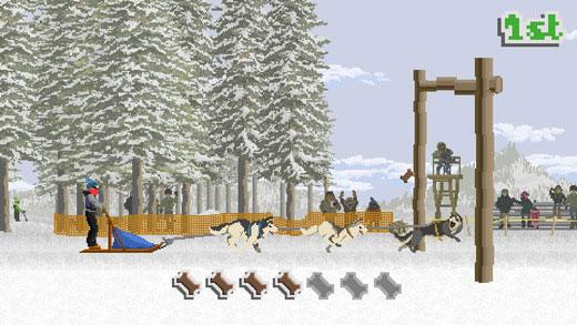 竞速游戏《雪橇狗传奇》现已上架 比一比谁的雪橇跑的更快