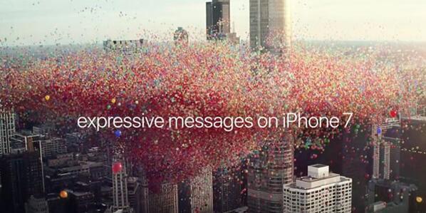 看不懂的iPhone 7广告   带着iOS 10一起飞
