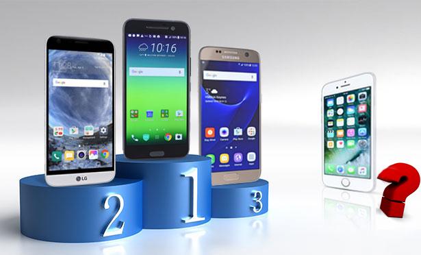 """iPhone 7被扣上 """"电池续航最差"""""""