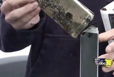 噩耗连连!又一部iPhone 6 Plus晚上充电爆炸