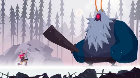 《维京人:射手之旅》下周上架 在艺术世界中大战巨型怪物