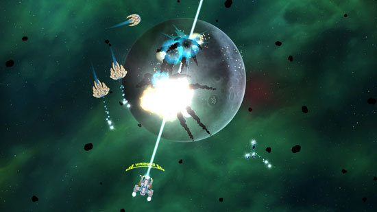 《X战机》12月登场 深入浩瀚太空展开飞行大战