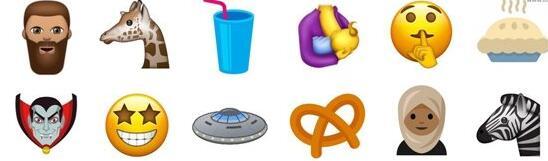 苹果iOS11会有这波emoji哦,你可喜欢?