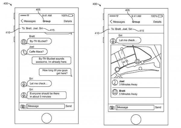 苹果又来新专利:Siri将与iMessage融合