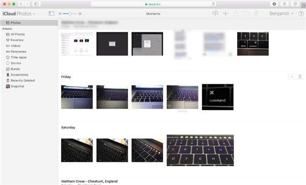 苹果正在计划升级网页版iCloud照片应用