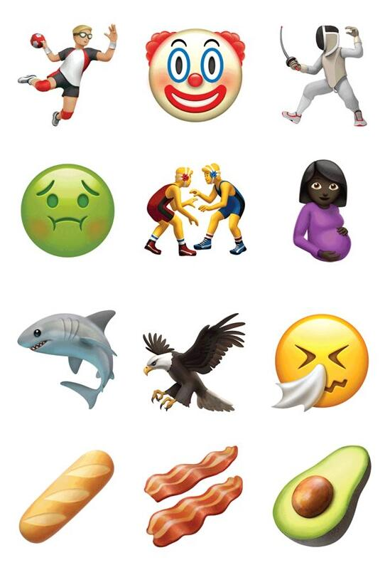 iOS10.2正式版新增100多个emoji表情  精美又细致