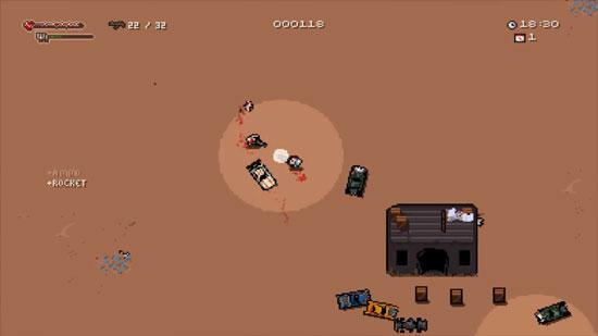 独自开车穿梭沙漠 像素新作《灰色世界》曝光