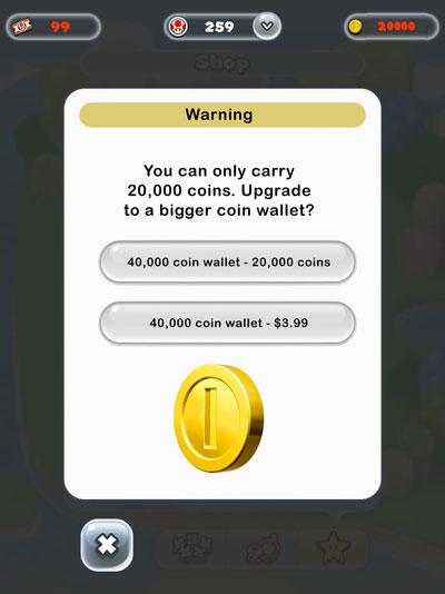 脑洞大开 当《超级马里奥跑酷》变成一款道具付费游戏