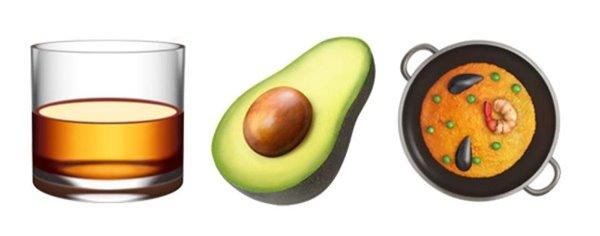 iPhone可用新emoji表情,举起威士忌干杯吧
